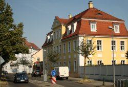 Die Oberdorfstraße in Stötteritz. Foto: Ralf Julke