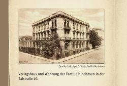 Das einstige Verlagshaus der Edition Peters in der Talstraße. Screenshot: L-IZ