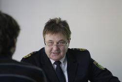 Leiter des OAZ: Polizeipräsident Bernd Merbitz. Foto: Alexander Böhm