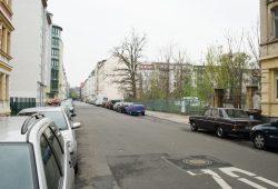Die Freifläche in der Rochlitzstraße in Schleußig. Foto: Ralf Julke