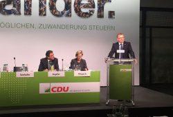 Roland Pohle bei einer Rede auf dem 30. Landesparteitag der CDU. Foto: CDU Leipzig