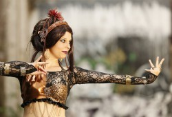 Tribal Fusion Dance Aktrice Madama Salan. Foto: Sabuas Lichtraum