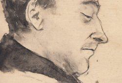 Porträt Max Schwimmers. Foto: Leipziger Antiquariat e. k.