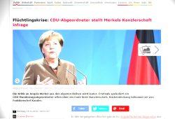 """""""Spiegel Online"""" bläst eine """"Bild am Sonntag""""-Meldung zum Artikel auf. Screenshot: L-IZ"""