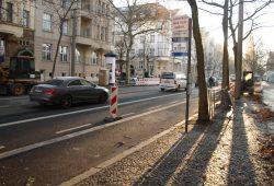 "Ab 28. November in Betrieb: neue Haltestelle ""Springerstraße"" in der Gohliser Straße. Foto: Ralf Julke"