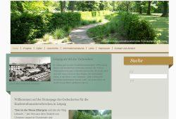"""Die freigeschaltete Website """"Die Wiese Zittergras"""". Screenshot: L-IZ"""