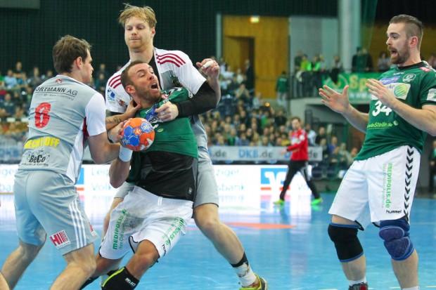 Philipp Pöter kämpfte und rackerte, doch ein Torerfolg blieb ihm diesmal verwehrt. Foto: Jan Kaefer