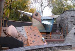 Bärenburg-Spielplatz im Leipziger Zoo. Foto: Karsten Pietsch