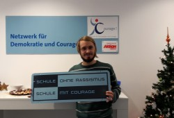 Landeskoordinator von Schule ohne Rassismus - Schule mit Courage Mathias Brauneis. Foto: privat