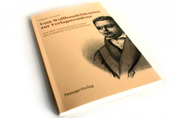 Günter Gentsch: Vom Wollhandelskontor zur Verlagsresidenz. Foto: Ralf Julke