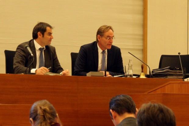 Burkhard Jung bei den Fragen an den OBM. Foto: L-IZ.de