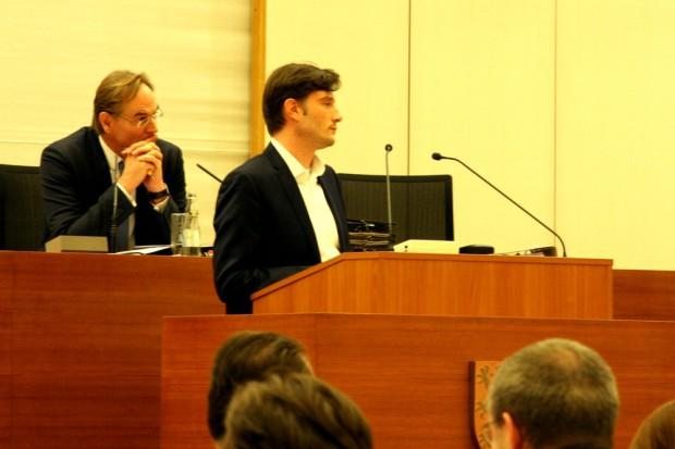 Burkhard Jung und Heiko Rosenthal. Foto: L-IZ.de