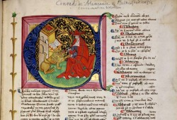Konrad von Halberstadt, Concordantiae Bibliae, Leipzig, wohl 1466. Foto: UB Leipzig