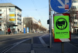 Den Naziaufmarsch durch Connewitz hatte bereits die Stadt gestoppt. Foto: Alexander Böhm