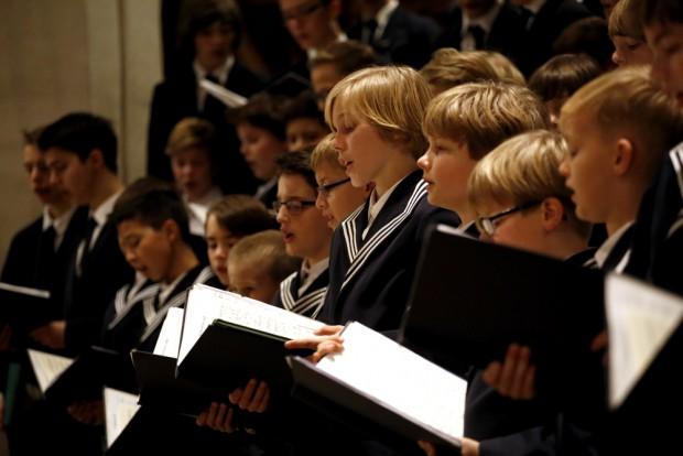 Der Thomanerchor beim Weihnachtsoratorium. Foto: Alexander Böhm