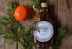 Mandarinen-Vanille-Likör. Foto: Maike Klose