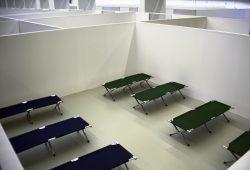 Eine Parzelle in der Einrichtung. Foto: Alexander Böhm