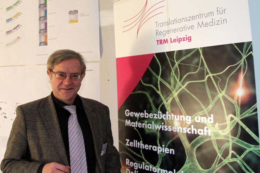 Prof. Dr. Frank Emmrich, Direktor des TRM seit 2006. Foto: Matthias Weidemann