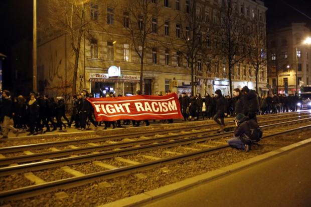 """Fight Racism"". Foto: Alexander Böhm"