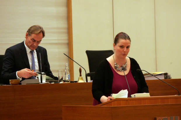 Ute Elisabeth Gabelmann (Piraten, SPD Fraktion im Stadtrat). Foto: L-IZ.de