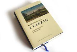 Enno Bünz. (Hrsg.): Geschichte der Stadt Leipzig, Band 1. Foto: Ralf Julke
