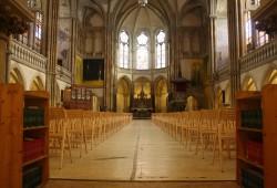 Peterskirche in Leipzig, Innenraum. Foto: Ernst-Ulrich Kneitschel