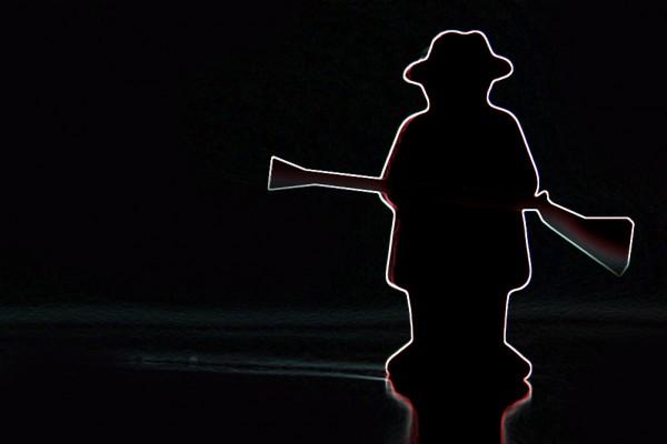 Brauchen ängstliche Männer jetzt wirklich eine Waffe? Montage: L-IZ