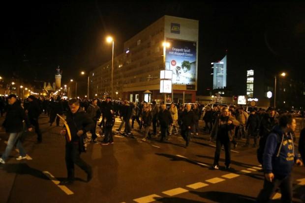 Legida verlässt den Bayrischen Platz. Foto: L-IZ.de