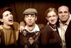 Von links nach rechts: Anne Rab, August Geyler, Susanne Bolf, Armin Zarbock. Foto: Armin Zarbock
