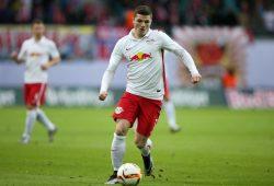 Der Mann des Spiels - Marcel Sabitzer mit zwei Toren am Sieg von RB Leipzig beteiligt. Foto: Gepa Pictures