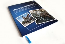 Jubiläumsbroschüre: Messegeschichte(n). Foto: Ralf Julke