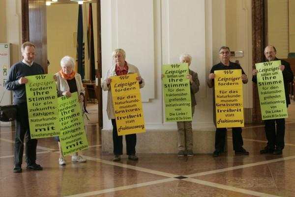 Leipziger Beispiel: Bürger engagieren sich für die Rettung des Naturkundemuseums. Foto: Sebastian Beyer