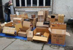 Nach erster Bewertung haben die beschlagnahmten Gegenstände einen Verkaufswert von ca. 40.000 - 50.000 Euro. Foto: PD Leipzig