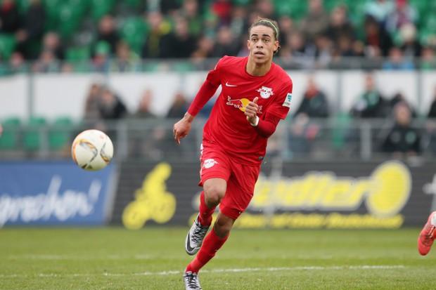 Poulsen brachte RB in Führung. Foto: GEPA Pictures