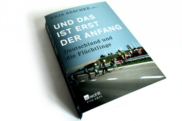 Anja Reschke (Hrsg.): Und das ist erst der Anfang. Foto: Ralf Julke