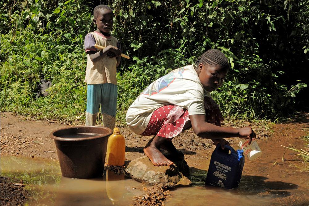 Tiere und Menschen brauchen etwas, ohne dass sie nur wenige Tage überleben können: Wasser. Foto: Dr. Fabian Haas