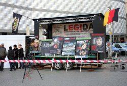 Compact-Magazin bei LEGIDA. Foto: L-IZ.de