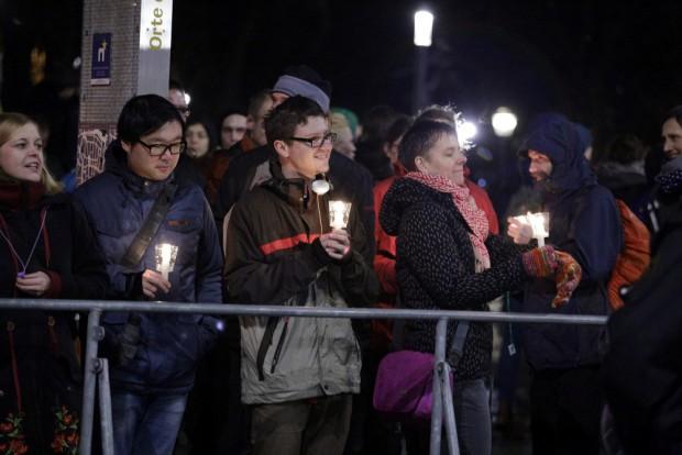 Lichter gegen LEGIDA. Foto: L-IZ.de