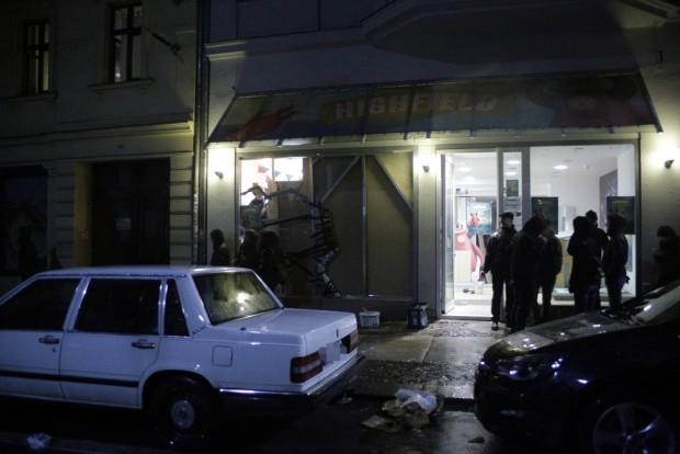 22:44 Uhr: Auch gegen das Highfield Festival richtete sich die Aggression der rechten Randelierer. Foto: L-IZ.de