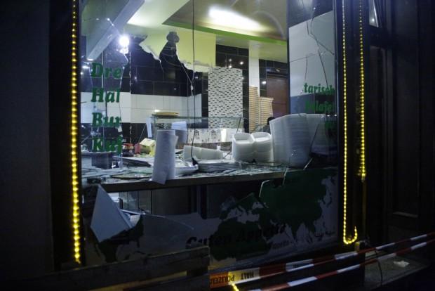 22:47 Uhr: Beträchtliche Schäden im Shahia. Foto: L-IZ.de