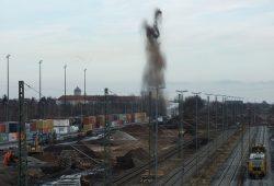 Bombensprengung in Leipzig-Wahren geglückt. Foto: PD Leipzgi