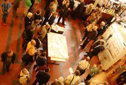 Vorstellung der Wettbewerbsergebnisse im Juli 2012. Foto. Ralf Julke