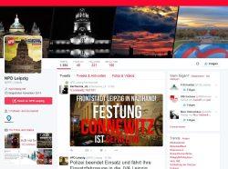 """Der Jubel über den """"Fall der Frontstadt"""" im Nachgang. Screenshot Twitter"""
