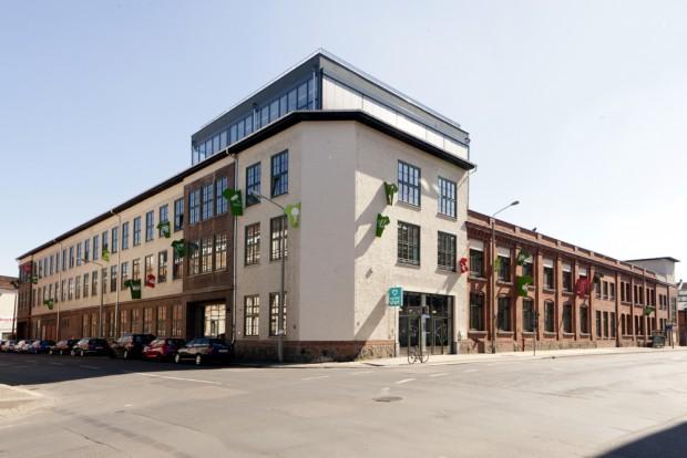 Firmenzentrale von Spreadshirt in der Gießerstraße 27. Foto: Pressebild Spreadshirt