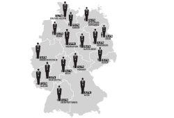 Die Grafik zeigt den Frauenanteil in den Chefetagen öffentlicher Unternehmen nach Ländern. Grafik: Thomas Häse/Universität Leipzig
