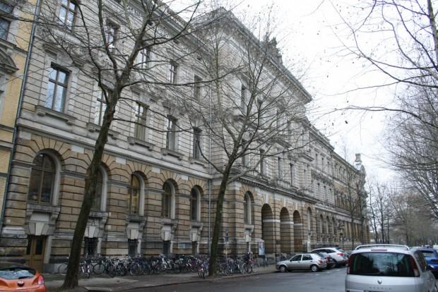 """Regers Leipziger Wirkungsstätte: die heutige Hochschule für Musik und Theatr """"Felix Mendelssohn Bartholdy"""". Foto: Ralf Julke"""