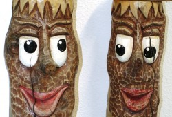 Wem gehören diese Holzfiguren? Foto: PD Leipzig
