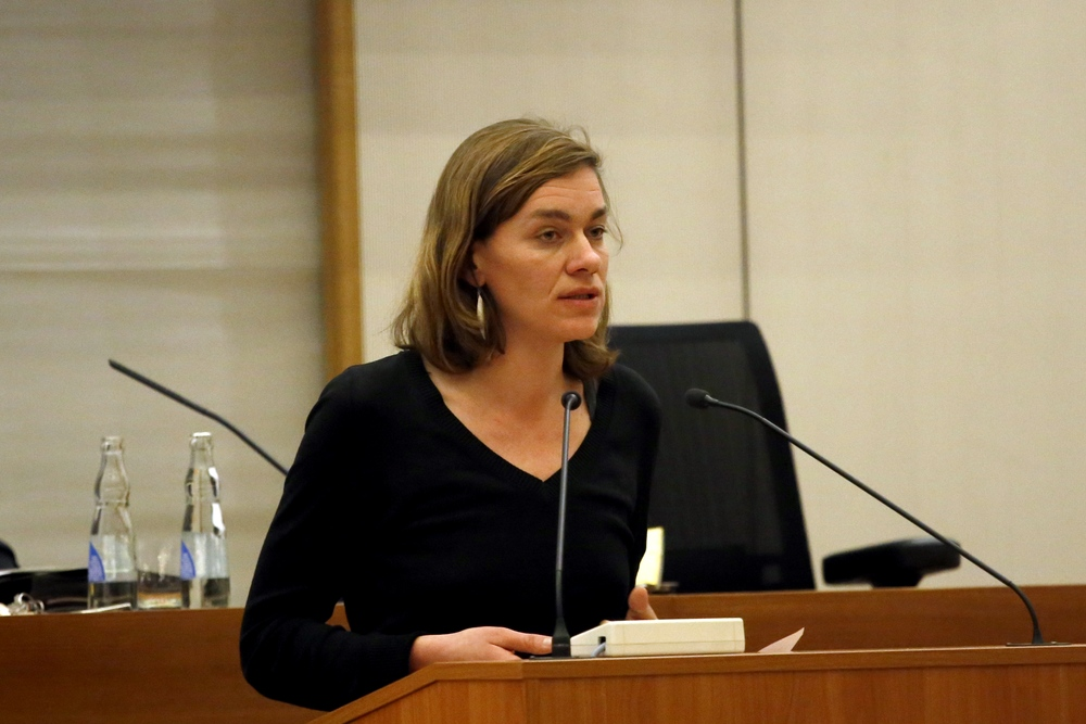 Juliane Nagel (Linke). Foto: Alexander Böhm