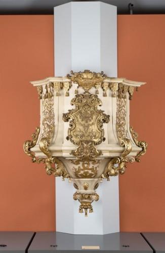 Der restaurierte Kanzelkorb im Museum für Musikinstrumente. Foto: Marion Wenzel/Kustodie der Universität Leipzig