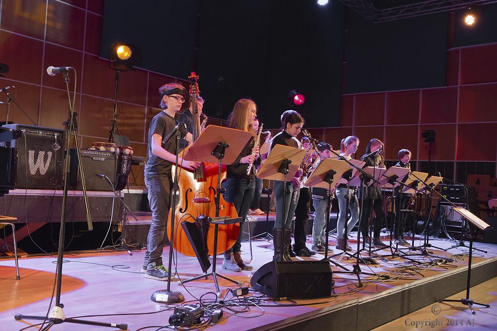 Beim Kinderjazzfestival geben junge motivierte Jazzer aus der ganzen Republik den Ton an. Foto: Alfred Jolig